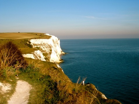 The Saxon Shore and The White Cliffs of Dover (England)