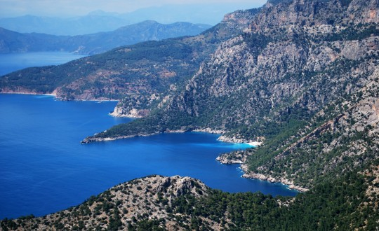 The Lycian Way in the West