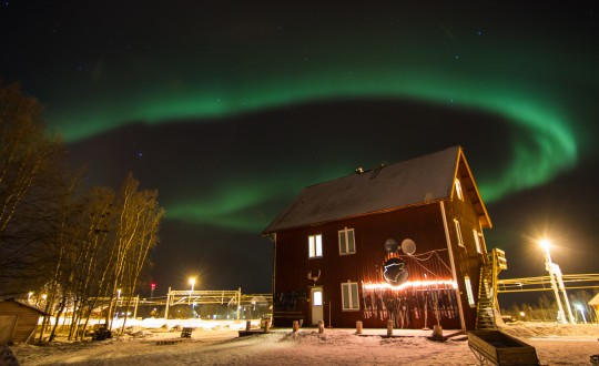 Northern Lights Watch at the Abisko National Park, Sweden