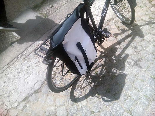 Rent of pannier bag