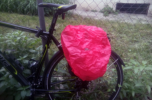 Waterproof pannier bags for cycling 2