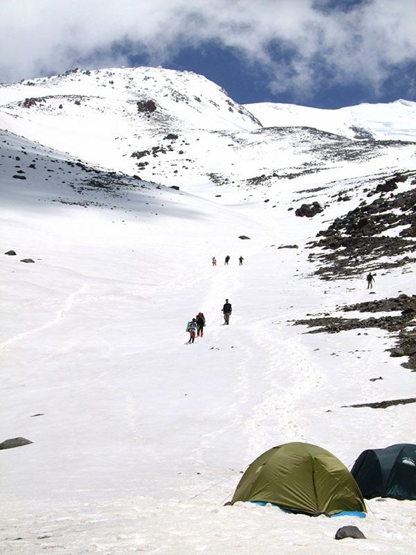 Climbing Mt Ararat 5165m Turkey Mountaineering