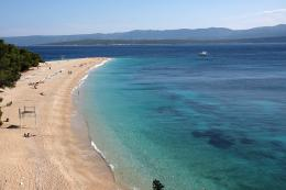 The Golden Horn Beach at Bol, Brac Island