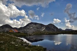 Tevno lake, Pirin Mountain, Bulgaria