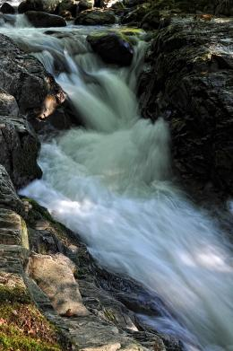 the power of the stream, North Balkan Mountain, Bulgaria