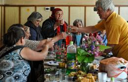the local villagers celebration, North Balkan Mountain region, Bulgaria