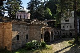 The Church in Troyan Monastery, near Oreshak village, Bulgaria