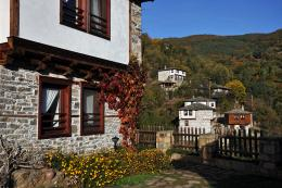 a local house, Rodopi Mountain region