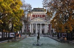 National Theatre Sofia Bulgaria