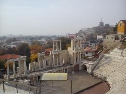The Amphitheater in Plovdiv, Bulgaria