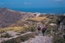 Self guided walking in Naxos and Santorini with Penguin Travel