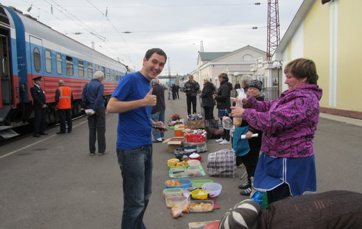 100 Years Trans-Siberian Railway in 2016