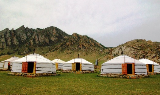 Паметник на кирилицата в Монголия