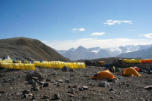 Den nemmeste 7000m bjergtop