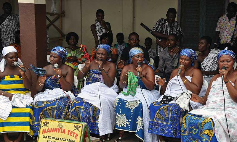 Akwasidae Festivalen i Ghana