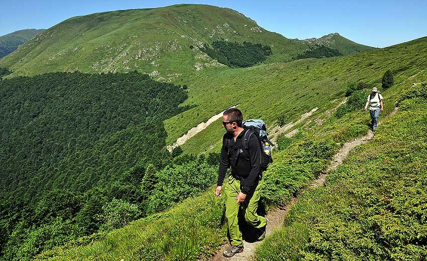 Transbalkan Trek, Bulgaria