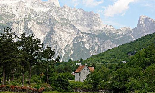 Trekking in the Albanian Alps