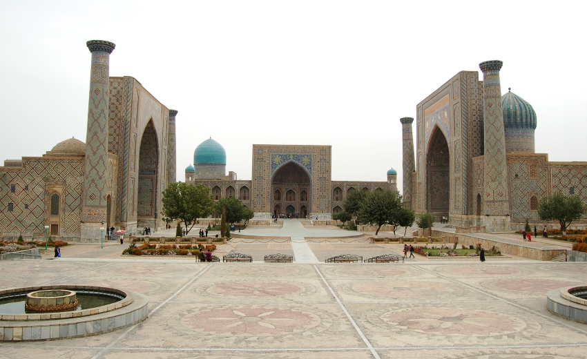 In the heart of The Great Silk Road (Uzbekistan)