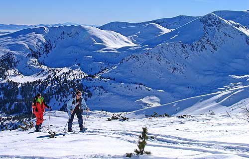 Snowshoeing in Vitosha and Rila Mountains