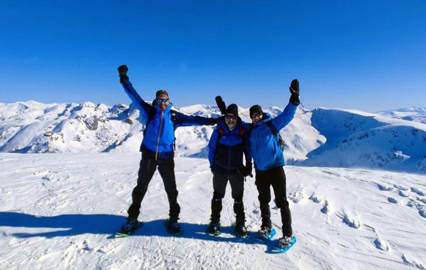Snowshoeing in Vitosha and Rila Mountains (Bulgaria)
