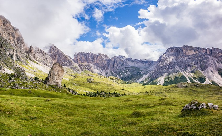 Self Guided Walk in the Dolomites