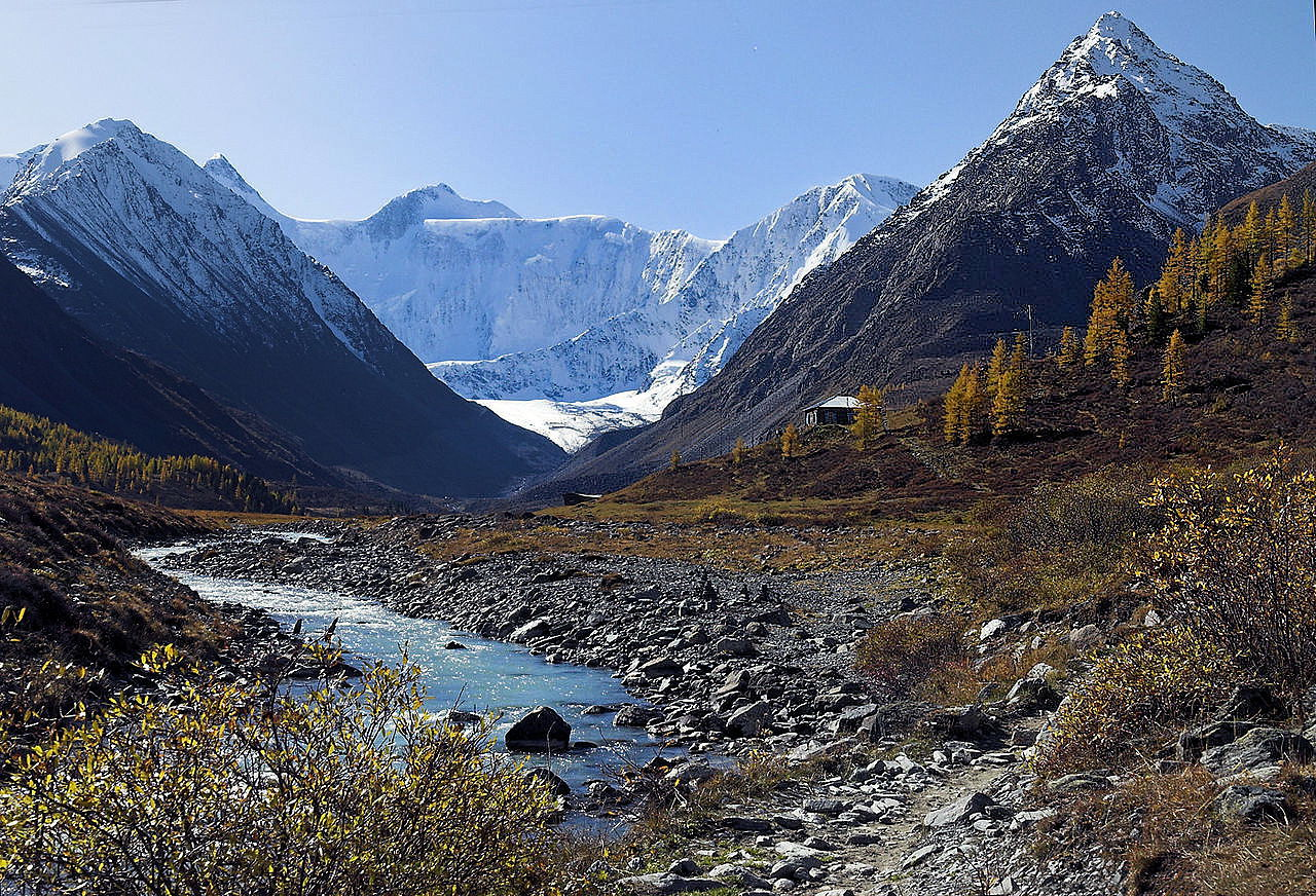 Altai - in the Temple of the pure nature (Russia)