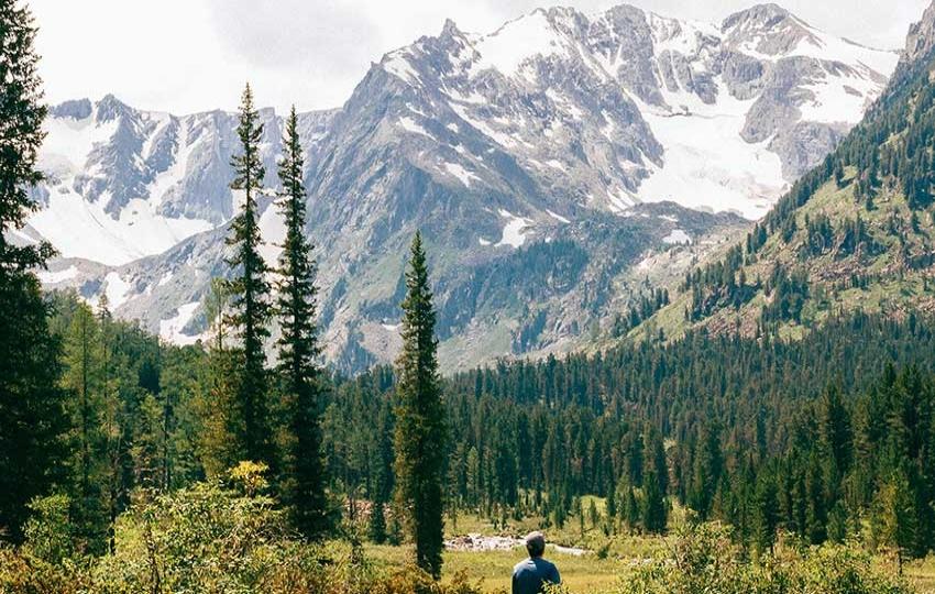 Trekking in Altai, Russia
