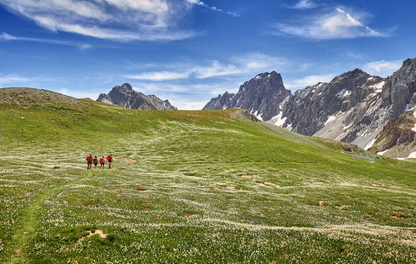 Hiking in the Maira Valley, Italy