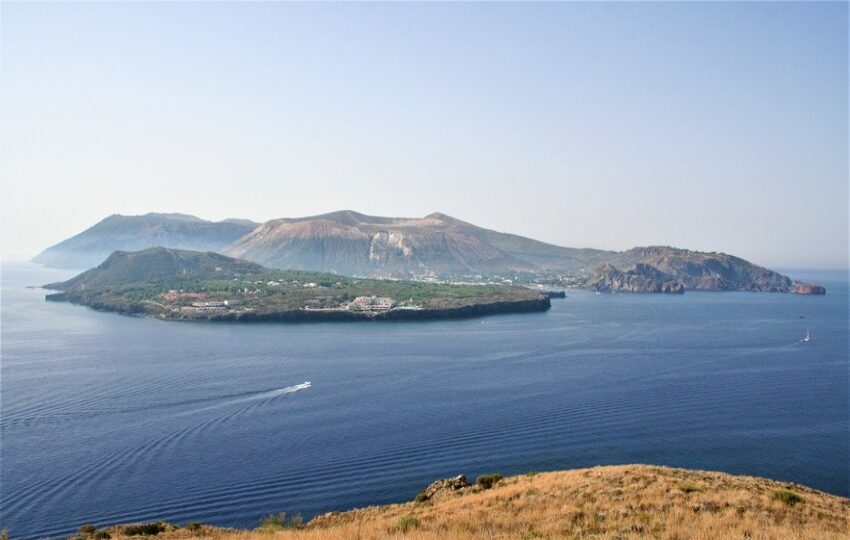 Walk on active volcanoes in Sicily, Italy
