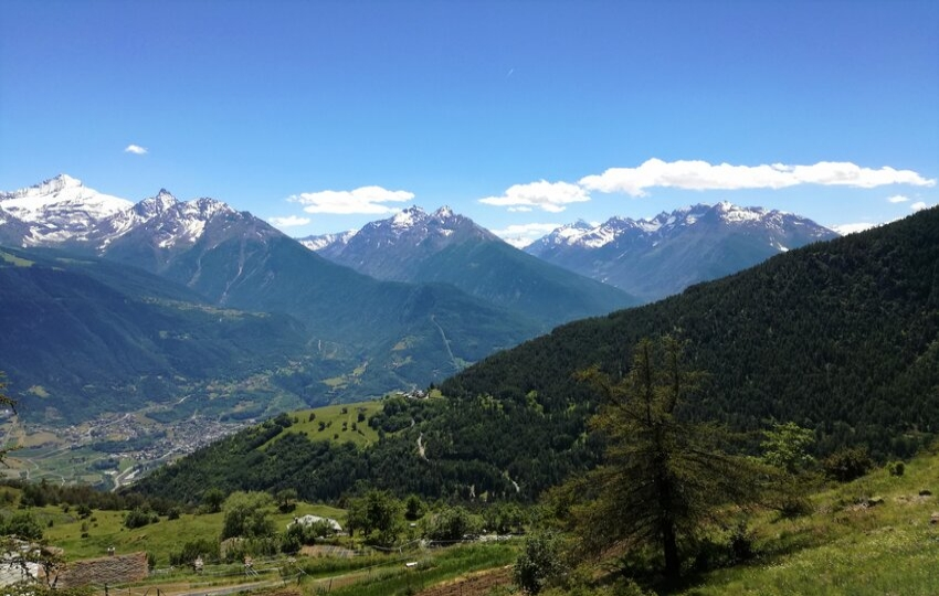Hiking in the Aosta Valley, Italy