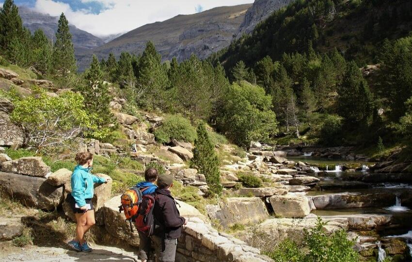 Walking trip in Ordesa National Park, the Spanish Pyrenees