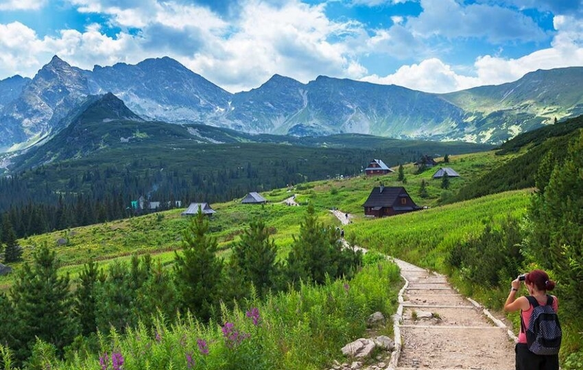 Through the national parks at the border of Slovakia and Poland