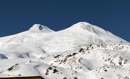 Mt. Elbrus Climb from North, Russia