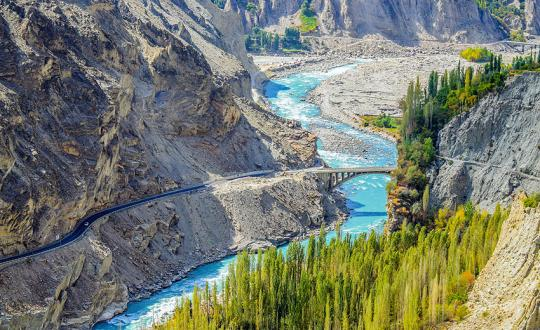 Karakoram Highway and Hunza Shangri-La, Pakistan