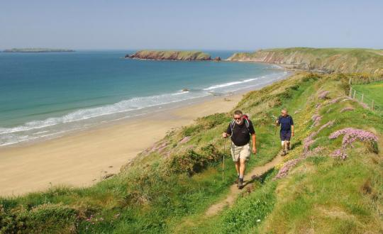 The Majestic Pembrokeshire Coast (Wales)