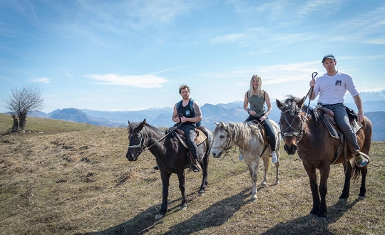 1-day horse riding tours (Teteven Balkan and Rodopi Mountains)