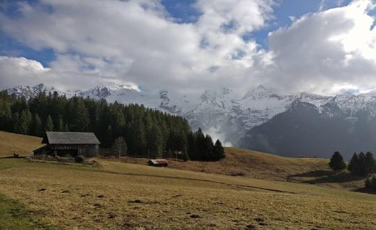 Walking from Aravis to Annecy, France